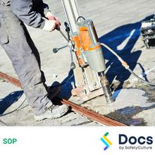Concrete Core Drill SOP 60198-1