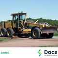 Roadworks (Shoulder Grading) SWMS | Safe Work Method Statement