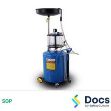 Pneumatic Oil Drainer SOP 60206-1