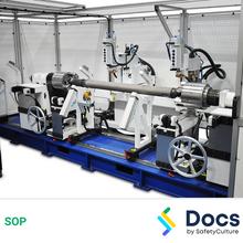 Drive-shaft Balancing Machine SOP 60209-1
