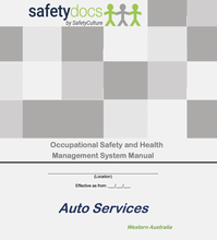 WA - OSH - Auto Services Occupational Safety & Health Management System 50189-1