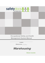 WA - OSH - Warehousing Occupational Safety & Health Management System