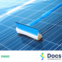 Solar Panel Cleaning SWMS 10469-1