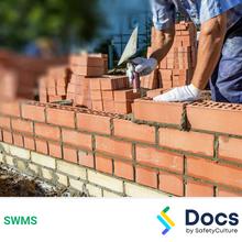Brick/Block Laying SWMS 10033-7