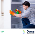 Cleaning Refrigerator/Freezers - Private Residences SOP | Safe Operating Procedure