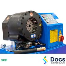 Hose Making - Crimping Machine (Hydraulic) SOP 60236-1
