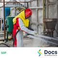Wet Abrasive Blasting Cabinet SOP | Safe Operating Procedure