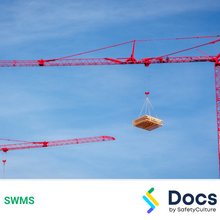 Crane Operation (Self-Erecting) SWMS 10486-1