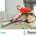 Floor Preparation (Bedding/Screeding) SWMS | Safe Work Method Statement