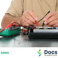 Electrical Repair (Appliances/Equipment) SWMS | Safe Work Method Statement
