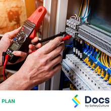 Electricians Safety Management Plan 50251-1