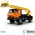 Cherry Picker/Elevated Work Platform (EWP) SWMS | Safe Work Method Statement