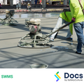 Concrete (Placement/Finishing) SWMS | Safe Work Method Statement