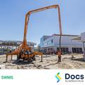 Concrete Pumping (Boom/Line) SWMS 10065-6