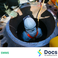 Confined Spaces Work SWMS | Safe Work Method Statement