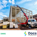 Crane Operation (Truck Mounted) SWMS | Safe Work Method Statement