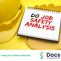 Job Safety Analysis (JSA) Form Template