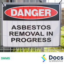 Asbestos (Licensed Removal) SWMS 10010-6