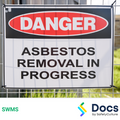 Asbestos (Licensed Removal) SWMS | Safe Work Method Statement