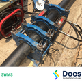 Plumbing (Polyethylene Pipe Welding) SWMS   Safe Work Method Statement