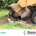 Stump Grinder Operation SWMS | Safe Work Method Statement