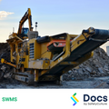 Mobile Plant (Concrete Crusher) SWMS | Safe Work Method Statement