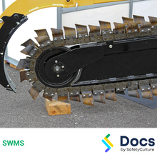 Mobile Plant (Chain Trencher) SWMS 10045-6