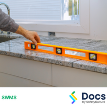 Bench-top Installation (Stone/Concrete) SWMS 10257-7
