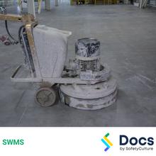 Concrete Floors (Grinding/Polishing) SWMS 10060-6