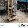 Drilling (Vehicle Mounted) SWMS | Safe Work Method Statement