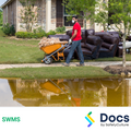 Cleaning (Flood/Storm) SWMS | Safe Work Method Statement