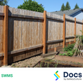 Fencing (Timber) SWMS | Safe Work Method Statement