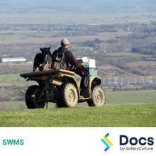 Mobile Plant (ATV - Quad Bikes/Gator Utility) SWMS 10212-6