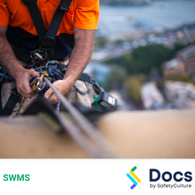 Heights (Rope Access) SWMS 10142-7