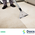 Cleaning (Carpets/Upholstery) SWMS | Safe Work Method Statement