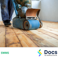 Floors (Timber - Sanding/Finishing) SWMS | Safe Work Method Statement
