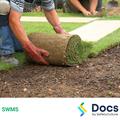 Turf Laying (Residential) SWMS | Safe Work Method Statement