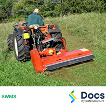 Mobile Plant (Tractor Slashing) SWMS 10275-4
