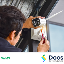Security System Installation (CCTV) SWMS 10237- 4