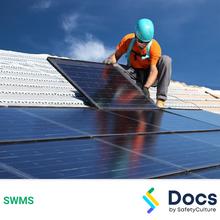 Solar Panel Installation SWMS 10054-6