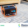 Generator (Portable) SWMS | Safe Work Method Statement