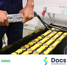 Battery Charging (Electric Vehicle) SWMS 10348-3