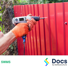 Fencing (Sheet Metal) SWMS 10375-5