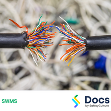 Communications (Cable Jointing - Fibre Optic/Copper) SWMS 10395-4