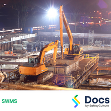 Construction Night Works SWMS 10406-4