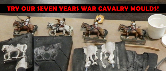 Seven Years War Cavalry Moulds