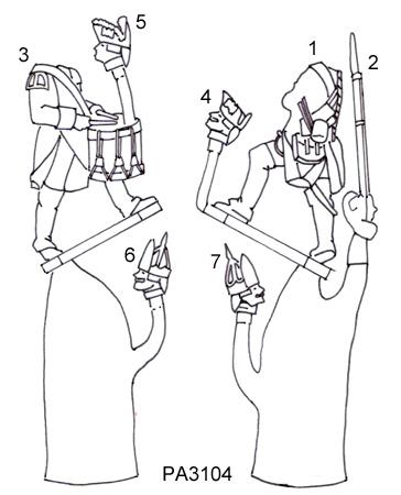 Prussian 3104 Line Drawings