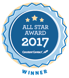 Prince August wins the all star award from Constant Contact 2017
