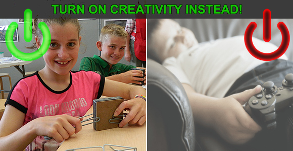 Turn on your creativity this Christmas