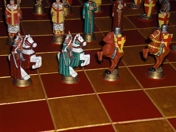 Crusades Chess Set - John Lubinski